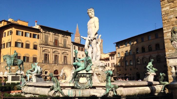 Piazza della Signoria. Florence, Italy.